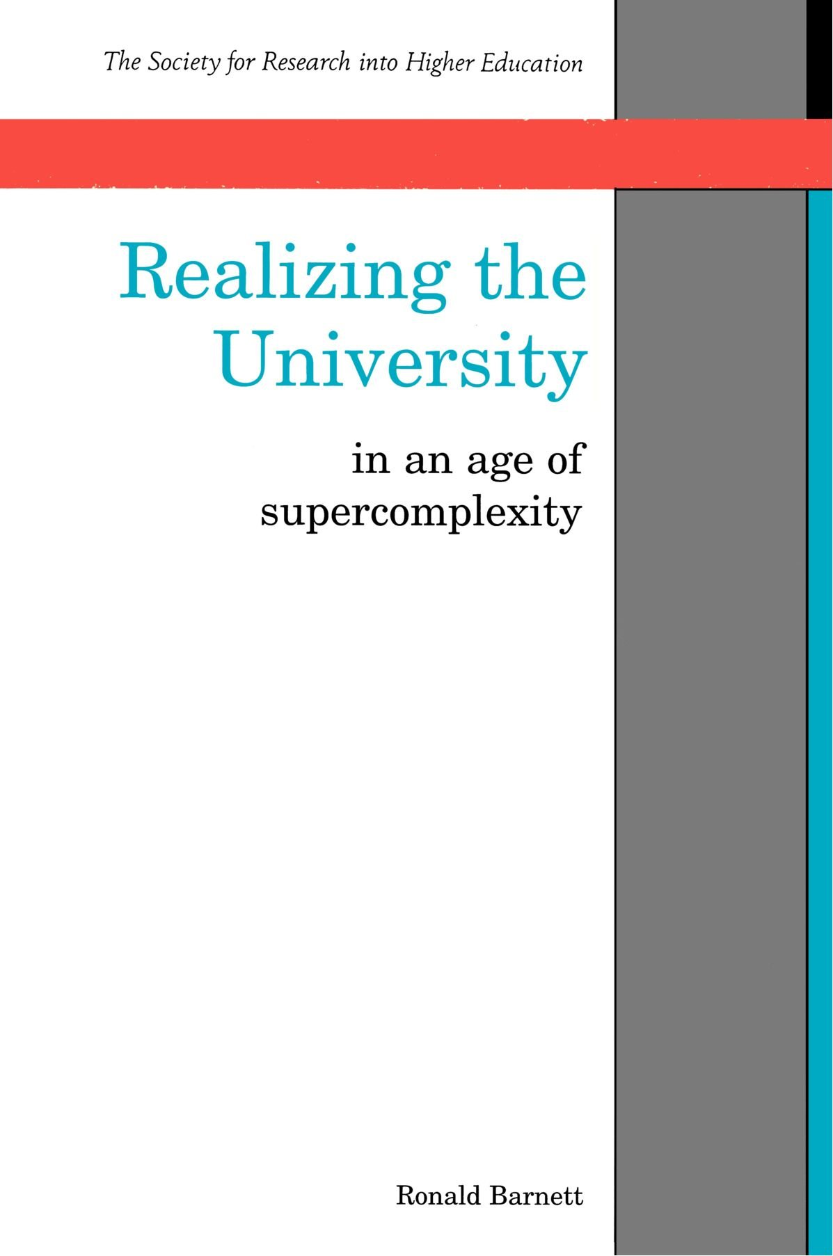 Realizing the University book cover