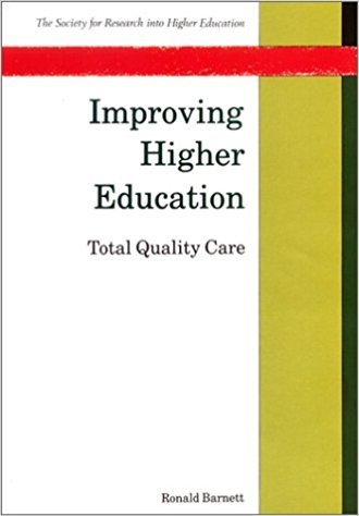 Improving Higher Education: Total Quality of Care book cover