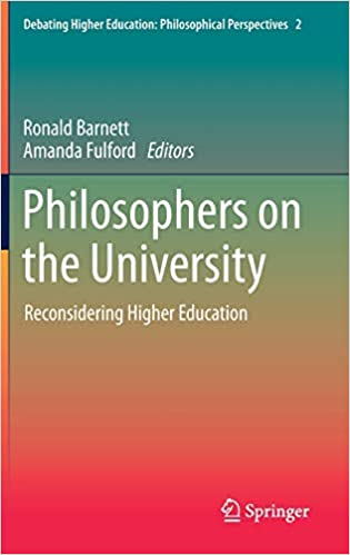 �Philosophers on the University�